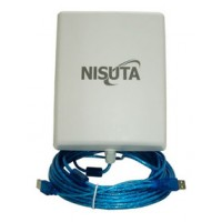 ANTENA PANEL USB CABLE 9.5MTS