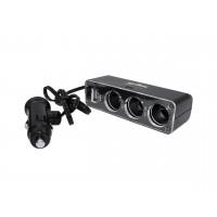CARGADOR AUTO USB/12V/24V NISUTA
