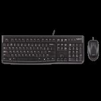 Teclado+mouse Logitech Usb