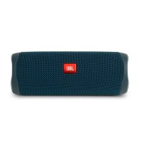 PARLANTE JBL FLIP 5 BLUETOOTH WHITE/BLUE