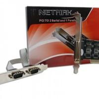 PLACA PCI SERIAL X2 PARALELO X1 NETMAK