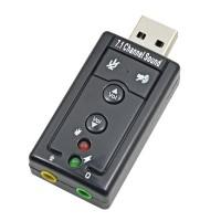 PLACA SONIDO VIRTUAL 7.1 USB DITRON