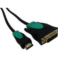 Cable Hdmi M / Dvi M 5mts Nisuta Ns-cadvhd5