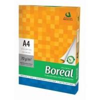 Papel A4 Boreal 70gr X 500