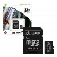 MEMORIA MICRO-SD 32GB KINGSTON CANVAS + ADAPTADOR