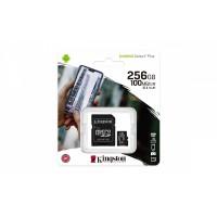 Memoria Micro-sd 256gb Kingston + Adaptador