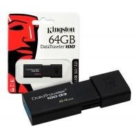 Pen Drive Kingston Dt100 G3 64gb Negro